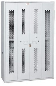Bifold-Weapon-Rack-Closed-Doors-64-inch