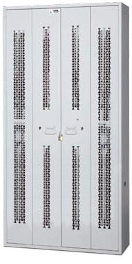 Bifold-Weapon-Rack-Closed-Locked-Doors-84-inch