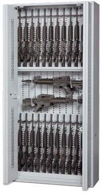 Bifold-Weapon-Rack-Open-Doors-84-inch