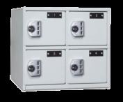4 Compartment Sidearm Locker