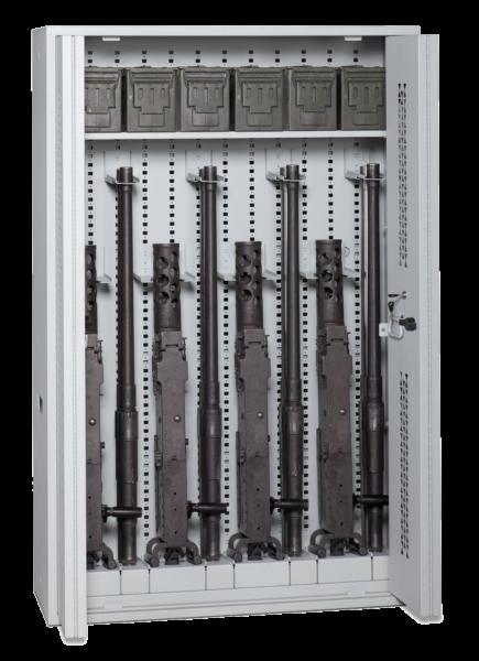 72 Inch Bi-Fold Weapon Rack - Transparent