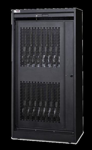 72 Inch Weapon Storage Cabinet - Black Transparent 7