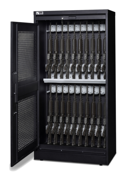 72 Inch Weapon Storage Cabinet - Black Transparent 8