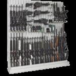 Single-Sided Expandable Weapon Racks