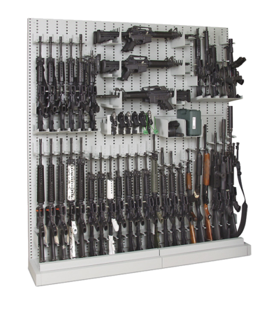 Single-Sided_Expandable Weapon Rack 2 - Transparent