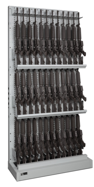 Single-Sided_Expandable Weapon Rack 3 - Transparent