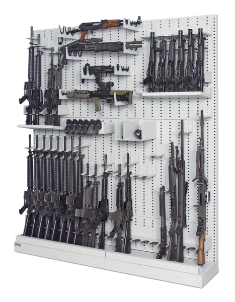 Single-Sided_Expandable Weapon Rack 4 - Transparent