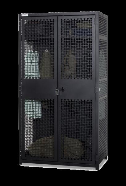 TA-50 Locker - Closed Doors - Transparent