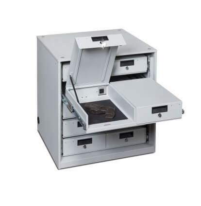 Taser-Cabinet-5x2-drawers