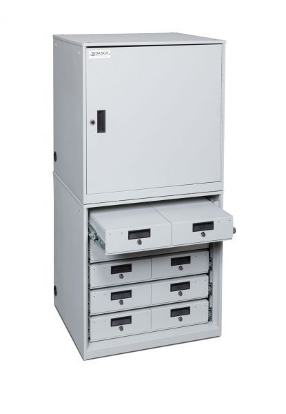 TASER-Device-Cabinet-Stacked-5x2-drawers-door-closed-415x600