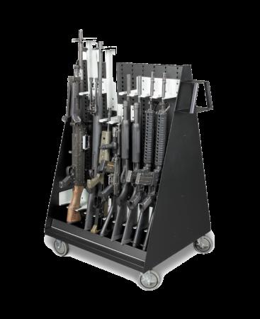 Weapon Storage Cart - Transparent