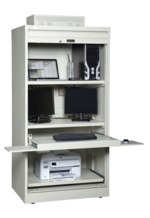 Ultimate Computer Storage Cabinet