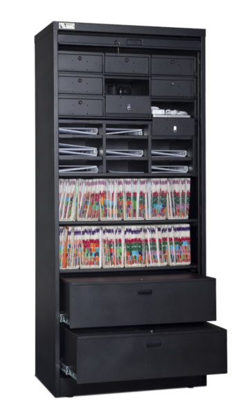 83 Inch Secure Media Cabinet 500px