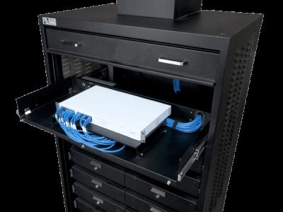 19 Inch Rackmount Platform For Switch Shelf